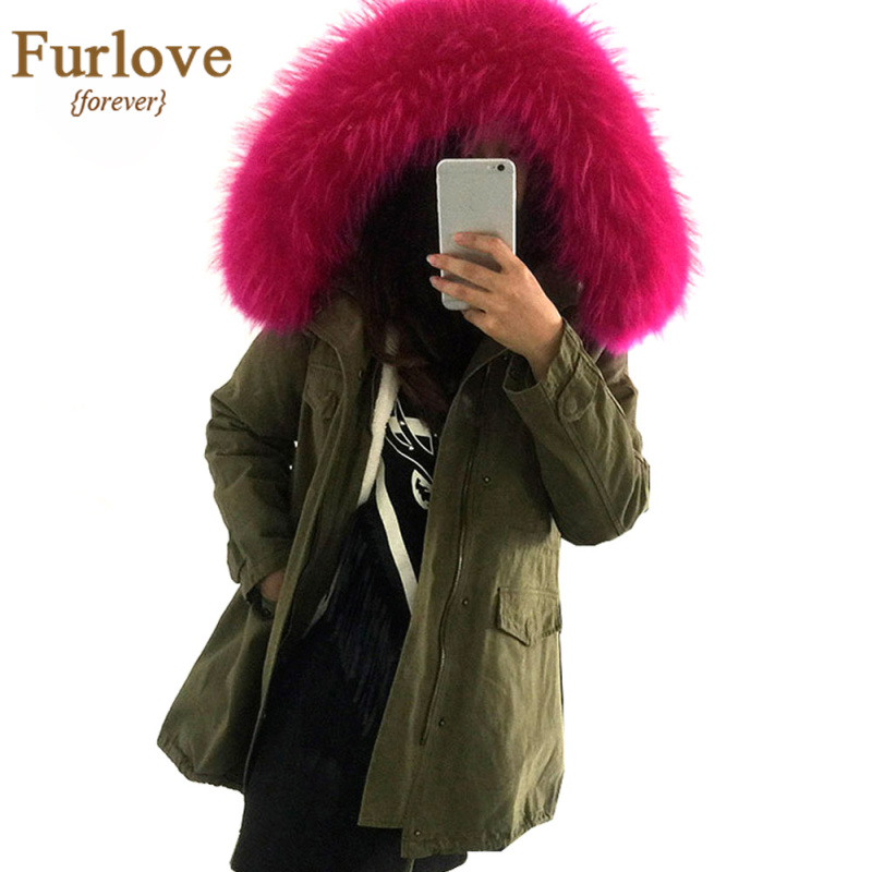 Online Buy Wholesale fur hooded jacket from China fur hooded