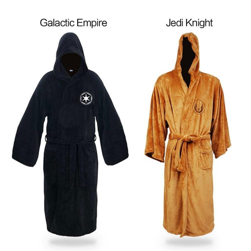 Star Wars Men Adult Pyjamas Bathrobe Jedi Knight Galaxy
