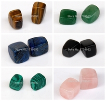 Assorted Natural stone Tumbled Stones Crystal Quartz Aventurine Obsidian Points Beads for Bracelets Jewelry Chakra Healing Reiki