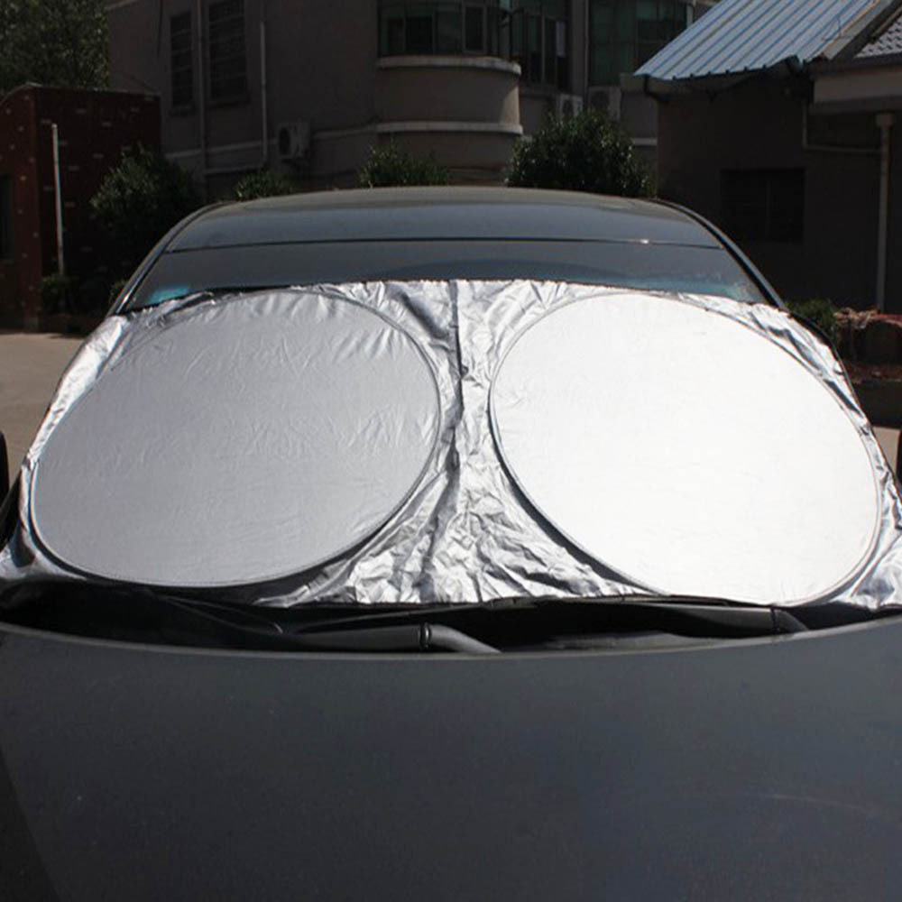 Auto Visor Windshield Block Cover Car Window Sun Shade Sunshade Front Rear Window UV Protection Shield Film Reflective