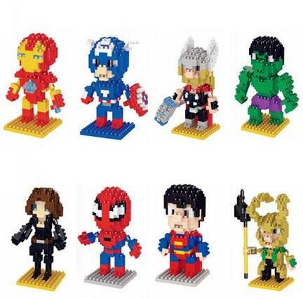 cc9dd0e3fe0 Super-heróis Loki Batman Superman Homem de Ferro Homem Aranha Capitão  América Thor Hulk Hawkeye