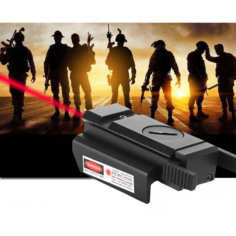 Track Red Dot Laser Sight Tactical 20mm Standard Weaver Rail for Pistol Gun Rifle11MM/20MM