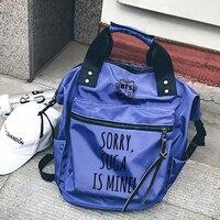 Youpop KPOP BTS Bangtan Boys ARMY Album Nylon Mischief Bag Jewelry Admission Package Fashion Women Backpack