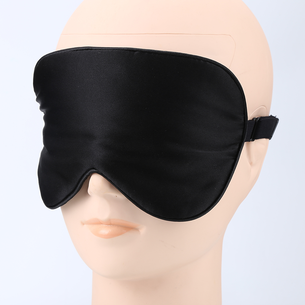 d4c3d8df8 NEW Silk Sleep Mask Soft Eye Mask Sleeping Aid Shade Cover 21.5 11CM  Sunlight Blocking Out Blindfold Unisex Comfortable-in Toiletry Kits from  Beauty ...