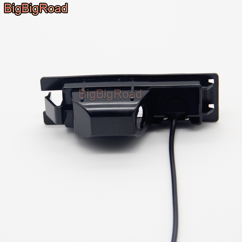BigBigRoad Car Rear View Parking Camera For Opel Astra H J Corsa Meriva Vectra Zafira Insignia For FIAT Grande For Buick Regal in Vehicle Camera from Automobiles Motorcycles