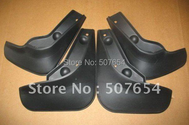 Higher star 4pcs car Mudguards(PP material, strong and good flexible ) for SUZUKI Swift image
