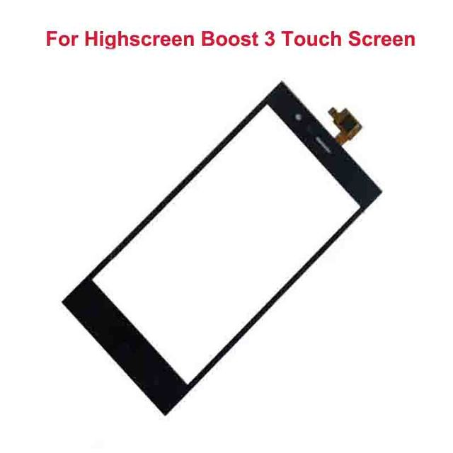 """Tela de Toque De preto Para Highscreen Impulso 3 5.0 """"Painel de Toque Digitador Lente de Vidro de Alta Qualidade New Substituição"""