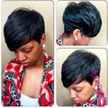 Cheap Short Black Curly Wigs For Black Women Natural African American Wig With Bangs Free Shipping