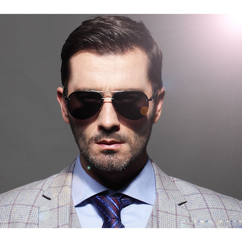 LVVKEE Brand Male HD Polarized Driver Mirror sunglasses Men/Women - Apparel Accessories - Photo 6