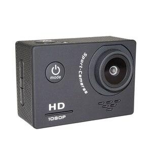 Image 4 - 1080P מיני ספורט פעולה מצלמה לטיפוס רכיבה 2 אינץ LCD מסך 120D ללכת עמיד למים פרו DV DVR וידאו הקלטת קסדת מצלמה