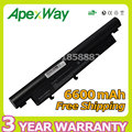 Apexway 6600mAh Battery for Acer Aspire Timeline 3810 4810 5810 3810T 4810T 5810T AS09D31 AS09D34 AS09D36 AS09D56 AS09D70