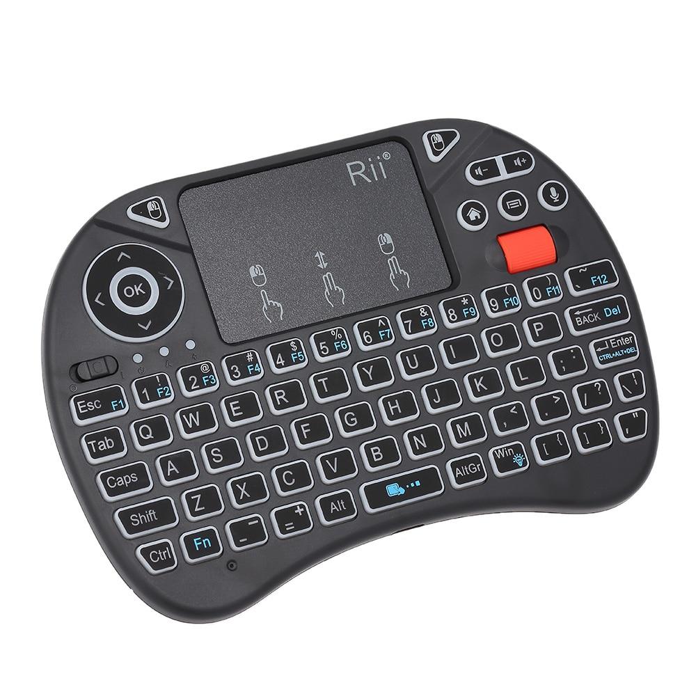 buy 2 4g voice input handheld air mouse keyboards backlit wireless keyboard. Black Bedroom Furniture Sets. Home Design Ideas
