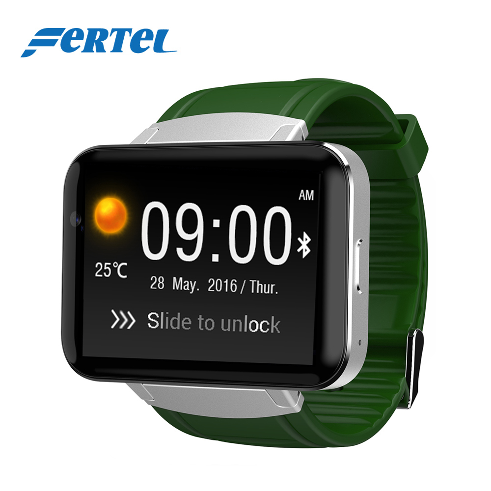 2.2 inch Big Screen Smart Watch Android adult Smartwatch Inteligente Wearable Devices 512MB + 4GB GPS WIFI Bluetooth passometer