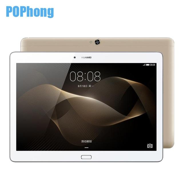 Оригинал Huawei MediaPad M2 10.0 Tablet PC 3 г Оперативная память 64 ГБ Встроенная память 10.1 дюймов Kirin930 Octa Core WIFI/ LTE 1920x1200 Android 5.1