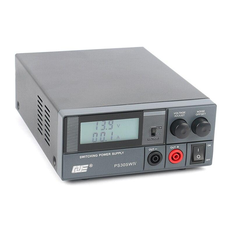 QJE 13.8V 15V 30A 20A Adjustabl LCD Digital Ham Radio Communication Power Supply For Shortwave Base Station or Vehicle Platform