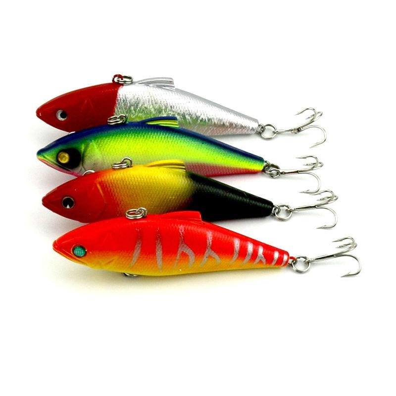 Big game lifelike vib rattlin hard bait fishing tackle for Fishing lure kits