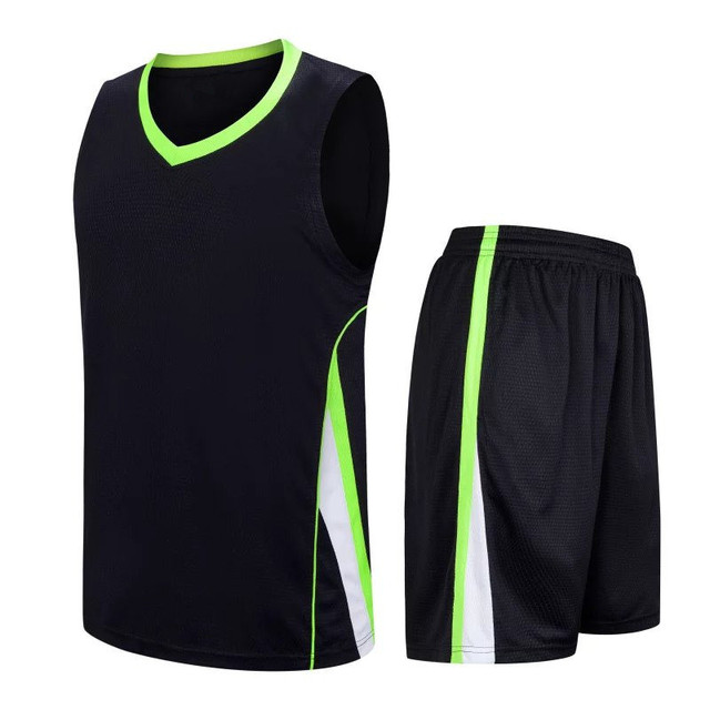 27aae1a31fd8 New Season Design Blank basketball jerseys Sets Breathable cheap throwback basketball  jersey Suits biggest size 5XL LD-8091