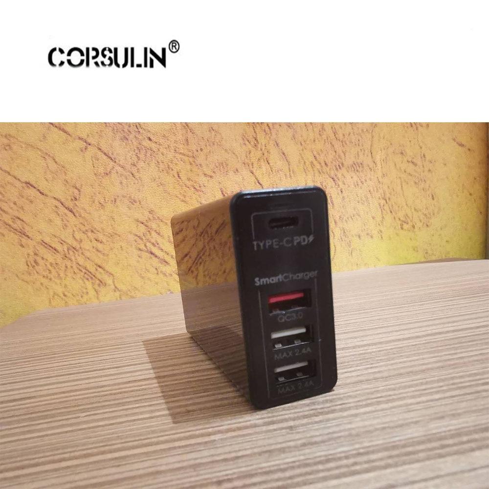 100W 90W 87W 65W 45W USB Type-C Charger For Macbook Asus Lenovo ThinkPad Xiaomi Pro 5V 9V 12V 15V 20V Max 5A C