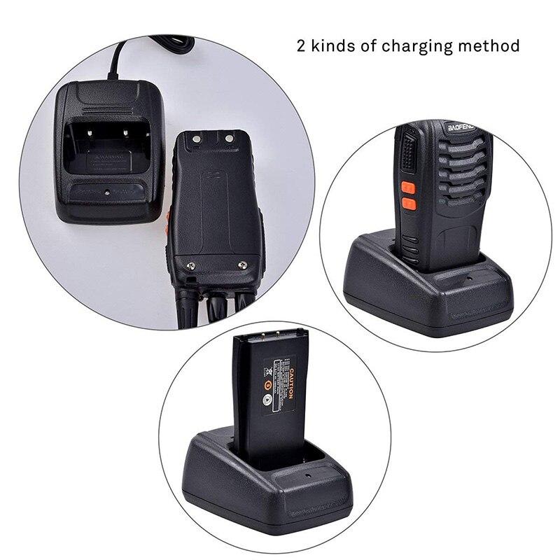 Baofeng BF-888S jouet Rechargeable talkie-walkie set interphone téléphone jouet professionnel talky gadget émetteur-récepteur de poche P20 - 5