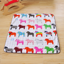Ins Fashion Cute Designer Kids Baby Climbing Play Mat Baby Toy Carpet Puzzle Mat Infant Play
