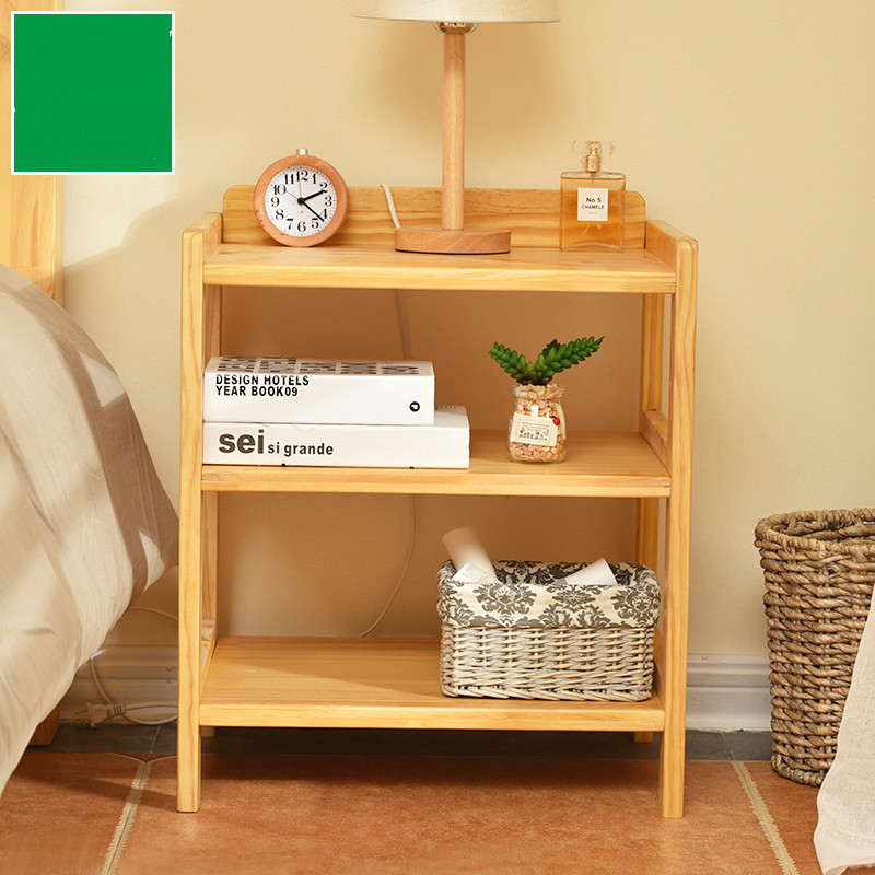 € 206.28 5% de réduction|Lit bois massif oreiller pin moderne rangement  meuble de rangement chambre chevet Mini casiers dans Tables de chevet de ...