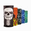 Novelty 500 pcs\lot Multifunctional Seamless Bandana Tube Scarf Luxury Magic Headband Ring Neck Scarves Cheap 25*49 cm
