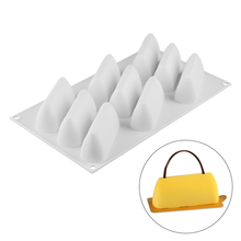 9 Holes Silicone Cake Mold Decorating Molds for DIY Baking Cheese Cakes Chocolate Jelly Dessert Homemade Bakeware Tools