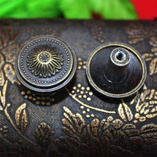 30pcs 26mm Chinese antique furniture drawer handle single hole handle door handle