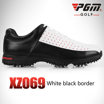 Waterproof Breathable Golf Shoes For Men Patent Design Outdoor Sport Shoes Anti-Skid Light Good Grip Comfortable Shoes AA10102