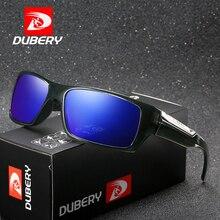 DUBERY Brand Designer Polarized Sunglasses Men Driving Shades Male Retro Sun Glasses For Summer Mirror UV400 Oculos D186