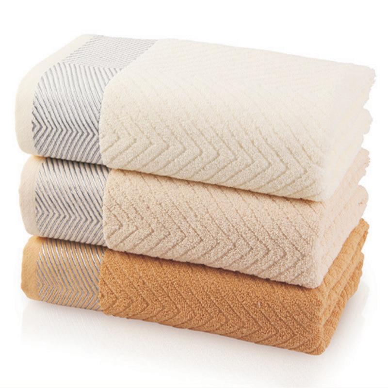 JZGH 33*72cm Solid Cotton Hand Towels,Plain Brand ...