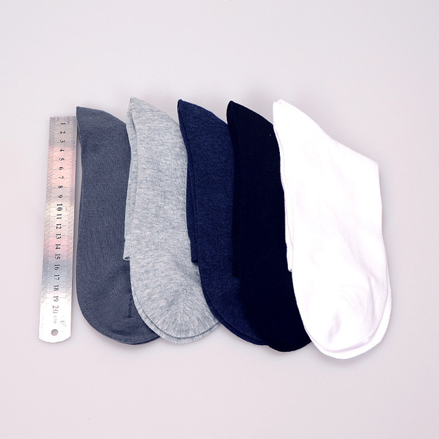 JOYOUS LUCKY 2018 Mens Socks 10 Pairs/lot  43 44 45 46 47 48 49 Cotton Bussiness Socks Men's Crew Socks Plus Size Euro Men Socks