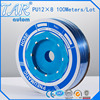 100m Piece High Quality Pneumatic Hose PU Tube OD 12MM ID 8MM Plastic Flexible Pipe PU12