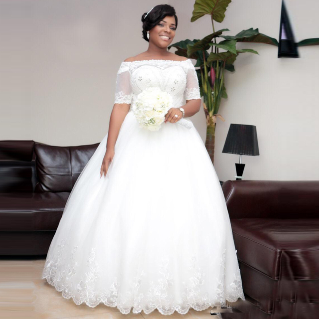 Fall 2016 Wedding Dresses for Plus Size
