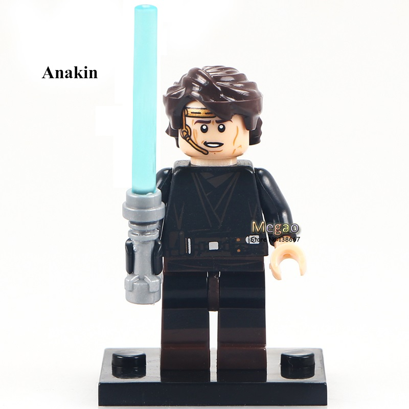 50pcs/lot Anakin PG652  Gifts Arrest  Jedi Building Block DIY Children Kids Learning Toy Christmas Gifts-in Blocks from Toys & Hobbies    1