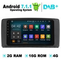 9 polegada 2G RAM Android 7.1 para Mercedes W251 R280 R300 R350 R500 Carro Sistema de Navegação GPS Radio Stereo Auto DVD Mídia jogador