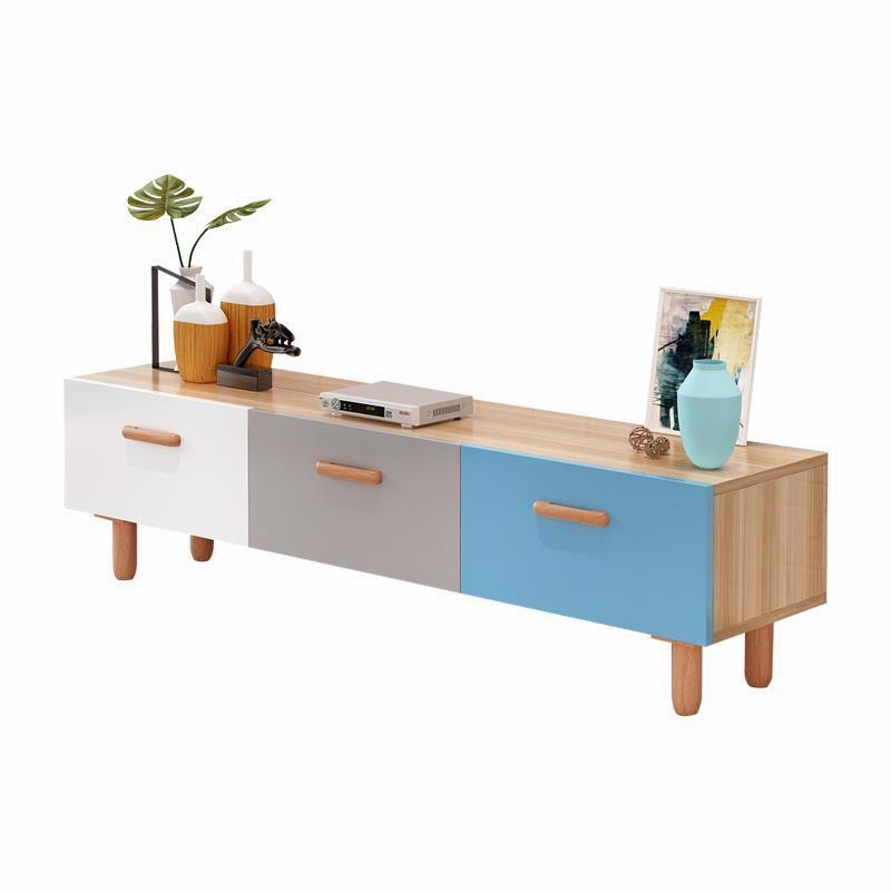 Meuble Living Tv Ordinateur Bureau Ecran Plat Entertainment Center Nordic
