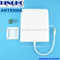 En plein air Panneau Antenne 9dBi 800-2500 MHz Multi bande GSM 3G WIFI DCS téléphone portable booster antenne plate