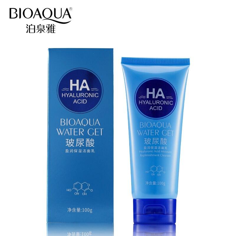 BIOAQUA מותג חומצה היאלורונית ניקוי פנים - טיפוח העור