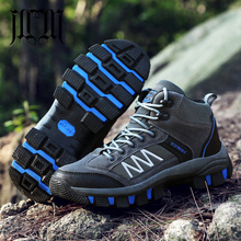 MUMUELI Gray Green Brown New 2019 Designer Casual Snow Men Shoes High Top Quality Fashion Luxury Boots Flat Brand Sneakers 766