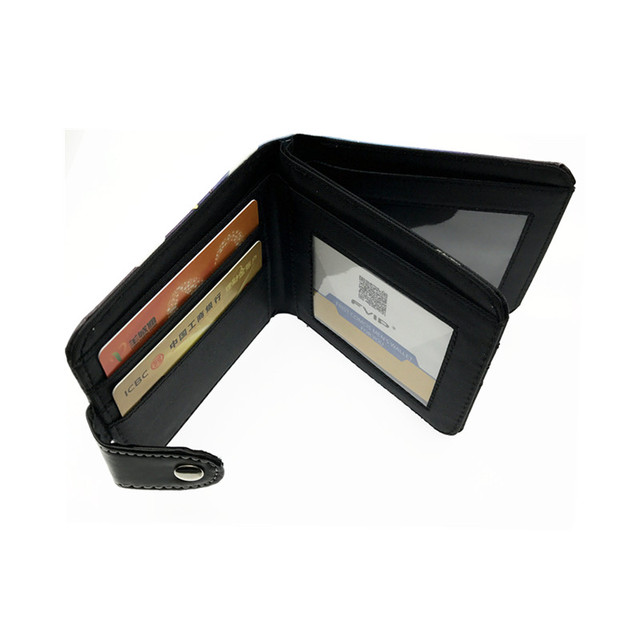 Attack on Titan Two Bill Compartment and 6 Card Holders Wallet