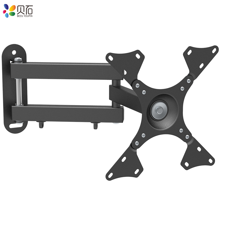 Image 4 - Universal Adjustable TV Wall Mount Bracket Universal Rotated Holder TV Mounts for 14 to 32 Inch LCD LED Monitor Flat PanelTV Mount   - AliExpress