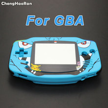 ChengHaoRan Reparatie Deel Behuizing Cover Voor GameBoy Advance Console Behuizing Shell Case Voor GBA Cartoon Limited Edition