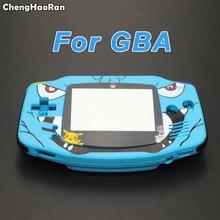 Chenghaoran reparação parte habitação capa para gameboy advance console habitação caso escudo para gba cartoon edição limitada