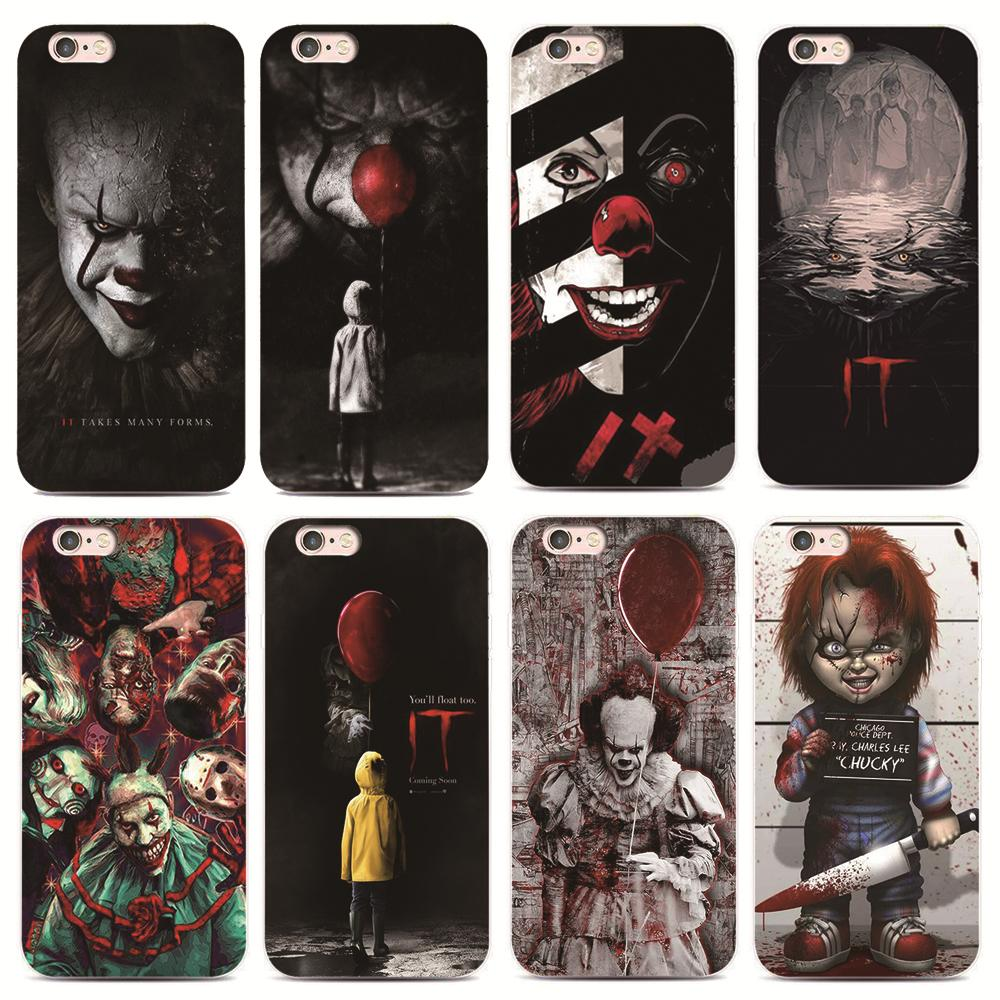 SMMNAS Pennywise The Clown Horror Case For iphone X XS XR