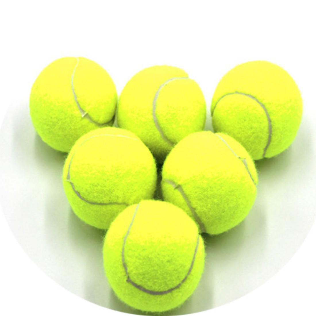 3Pcs Profession Training Tennis Balls Special Offer Durable Tennis Ball Fluorescent Yellow Tenis Masculino