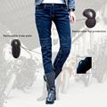 2016 Newest Cool Uglybros moto pants UBp10 stylish jeans women jeans Motorcycle pants Jeans girl jeans motor pants Blue