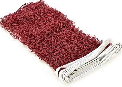 1 шт. Профессиональный портативный Стандартный Плетеный бадминтон сетка квадратная сетка Стандартный Плетеный бадминтон тренировочные инструменты - Цвет: Красный