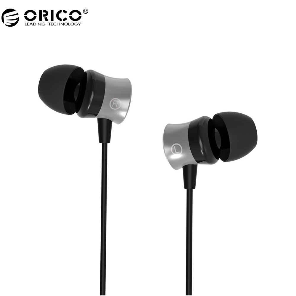 ORICO IEM-01 In-Ear Earphone With Control Button Widely Compatible Headset with Mic For Phone Call Listen to Music wireless service call bell system popular in restaurant ce passed 433 92mhz full equipment watch pager 1 watch 7 call button