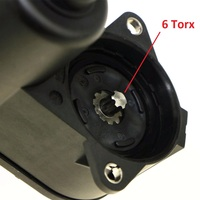 Saborway 6 Torx Rear hand brake Electric servo motor Brake Wheel Cylinder For A6 C6 Q3 Alhambra 32332082 32332082G 4F0615404C